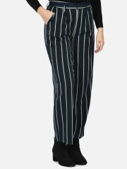 Box wide pant - Off White Stripe