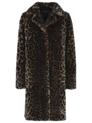 Fake Fur Jacket - Leopard