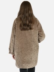 Drop Shoulder fur - Camel