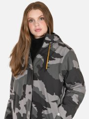 Rain Jacket with padding - Camouflage