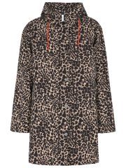Rain Jacket with padding - Leopard