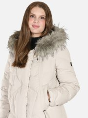 Down Jacket with Fake Fur - DK Kit