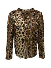 2-Biz bluse med animal print